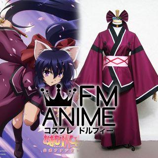 Omamori Himari Himari Noihara Kimono Cosplay Costume