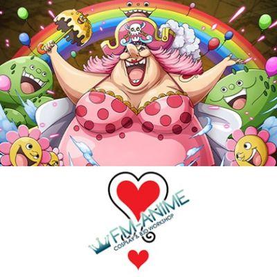 One Piece BIG MOM Cosplay Tattoo Stickers