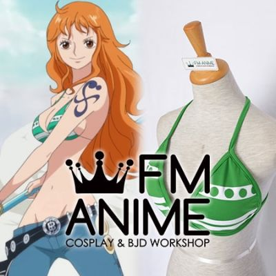 One Piece Nami +2 During and After the Timeskip Bra Cosplay Costume (Ver.2)