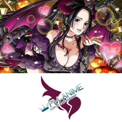One Piece Treasure Cruise Boa Hancock Love-Love Bat Midnight Halloween Paradey Cosplay Tattoo Stickers