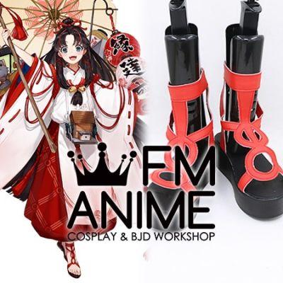 Onmyoji Enmusubi no Kami Cosplay Shoes