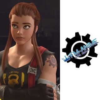 Overwatch Brigitte Lindholm Cosplay Tattoo Stickers