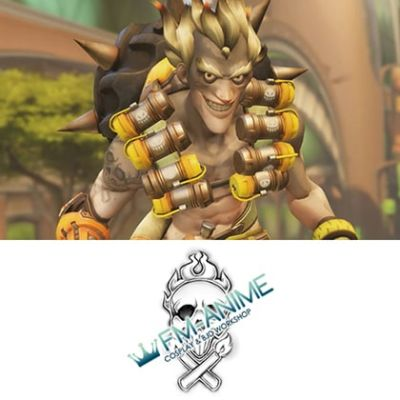 Overwatch Junkrat Cosplay Tattoo Stickers