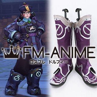 Overwatch Mei jiangshi Skin Cosplay Shoes Boots
