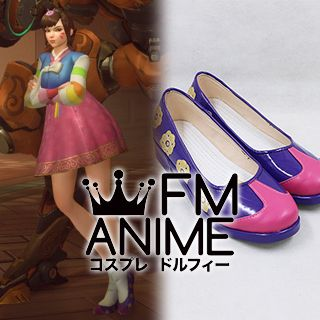 Overwatch Palanquin D.VA Skin Cosplay Shoes Boots