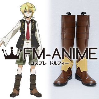 Pandora Hearts Oz Vessalius Cosplay Shoes Boots