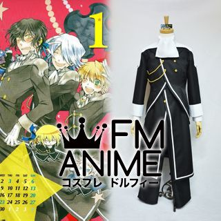 Pandora Hearts Xerxes Break Uniform Cosplay Costume (the Uniform from Pandora)