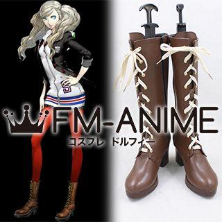 Shin Megami Tensei: Persona 5 Ann Takamaki Cosplay Shoes Boots