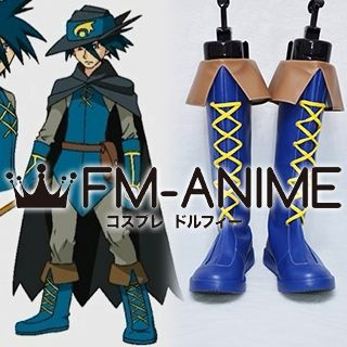 Pokemon Sir Aaron Cosplay Shoes Boots