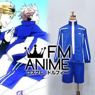 Prince of Stride Honan Blue Sport Uniform Cosplay Costume (Version 1)