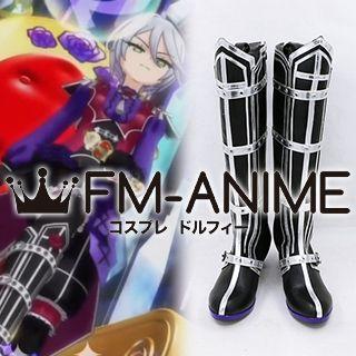 PriPara Hibiki Shikyoin Vampire Rose Coord Cosplay Shoes Boots