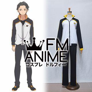 Re:ZERO -Starting Life in Another World- Subaru Natsuki Cosplay Costume