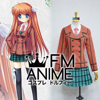 Rewrite Chihaya Ohtori Uniform Cosplay Costume