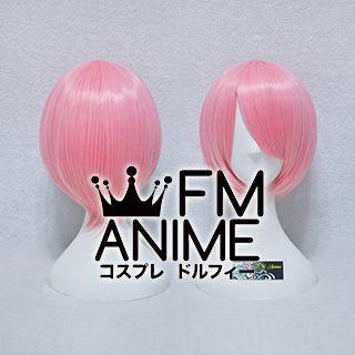 Short Straight Mixed Pink Cosplay Wig