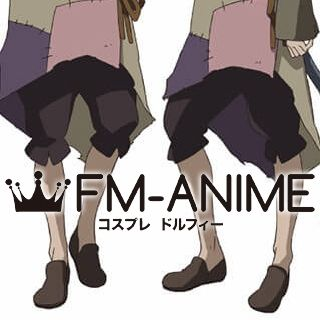 Rokka: Braves of the Six Flowers Hans Humpty Brown Cosplay Shoes