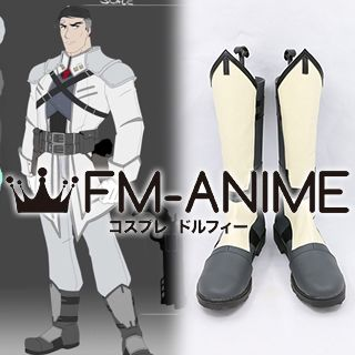 RWBY James Ironwood Cosplay Shoes Boots