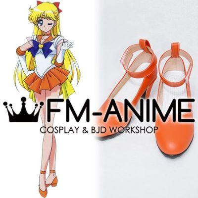 Sailor Moon Minako Aino (Sailor Venus) Cosplay Shoes Boots