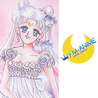 Sailor Moon Princess Serenity Cosplay Tattoo Stickers