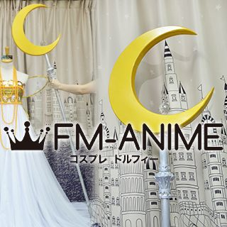 Sailor Moon Princess Serenity Cosplay Prop Summoned Staff Wand