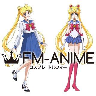 Sailor Moon Usagi Tsukino BJD Dolls Wig
