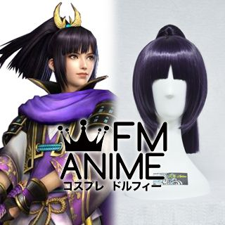Samurai Warriors 3 Mori Ranmaru Cosplay Wig