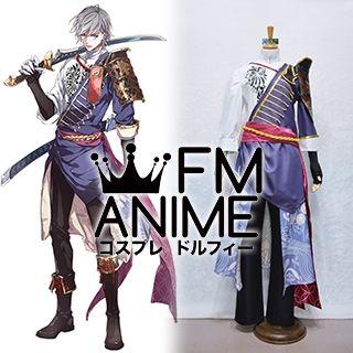 Sengoku Night Blood Niwa Nagahide Cosplay Costume