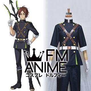 Seraph of the End Makoto Narumi Military Uniform Cosplay Costume