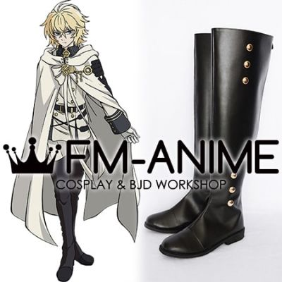 Seraph of the End Mikaela Hyakuya Cosplay Shoes Boots