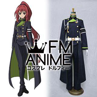 Seraph of the End Mito Jujo Military Uniform Cosplay Costume