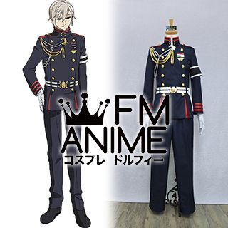 Seraph of the End Shinya Hiragi Military Uniform Cosplay Costume