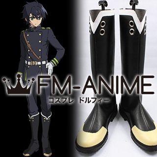 Seraph of the End Yuichiro Hyakuya / Shinoa Hiragi / Mitsuba Sangu Cosplay Shoes Boots