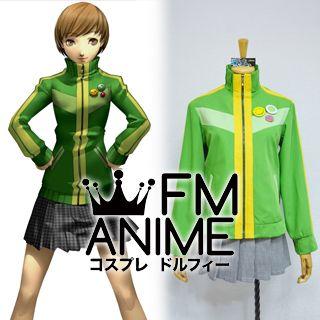 Shin Megami Tensei: Persona 4 Chie Satonaka Uniform Cosplay Costume