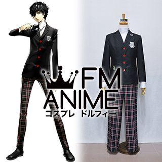 Shin Megami Tensei: Persona 5 Protagonist Akira Kurusu Uniform Cosplay Costume