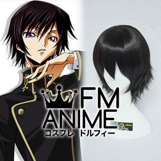 Code Geass: Lelouch of the Rebellion Lelouch Lamperouge Cosplay Wig
