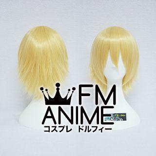 Short Layered Mixed Prince Gold Cosplay Wig
