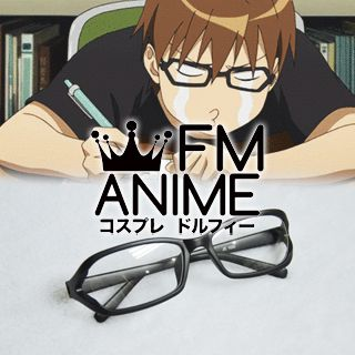 [Display] Silver Spoon Yugo Hachiken Black Glasses Cosplay