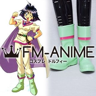 Slayers Amelia Green Cosplay Shoes Boots