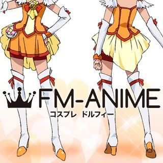 Smile Pretty Cure! Cure Sunny Hino Akane Cosplay Shoes Boots