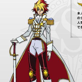 """Star Driver: Kagayaki no Takuto Takuto Tsunashi """"Galactic Pretty Boy"""" Cosplay Costume"""