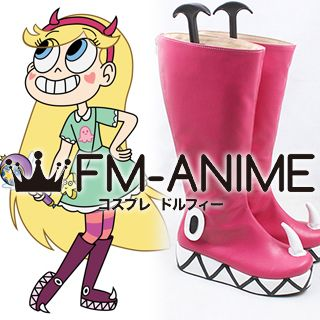 Star vs. the Forces of Evil Star Butterfly Cosplay Shoes Boots