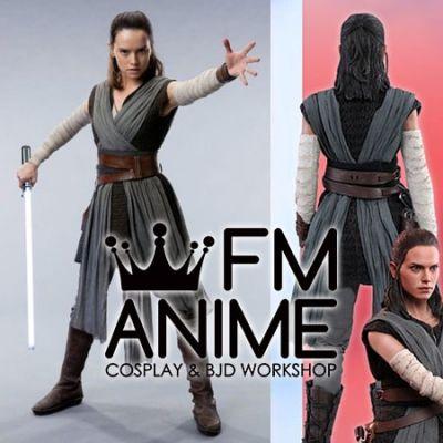 Star Wars: Episode VIII – The Last Jedi Rey Cosplay Costume