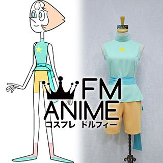 Steven Universe Pearl New Outfit Cosplay Costume