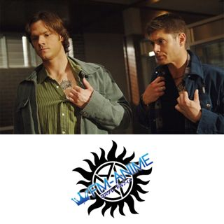 Supernatural (U.S. TV series) Dean & Sam Winchester Cosplay Tattoo Stickers