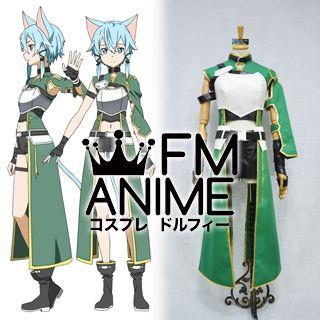 Sword Art Online 2 Sinon ALfheim Online ALO Cosplay Costume
