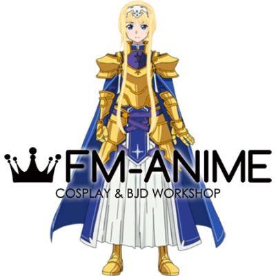 Sword Art Online: Alicization Alice Zuberg Integrity Knight Cosplay Costume