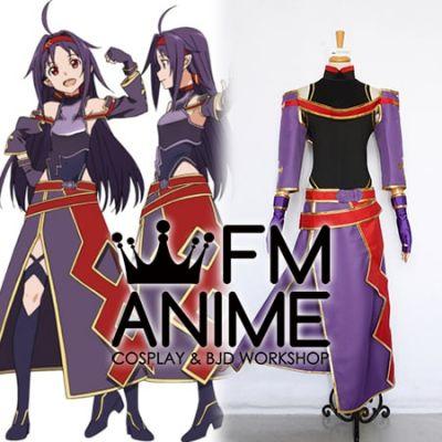 Sword Art Online II Konno Yuuki ALfheim Online ALO Cosplay Costume