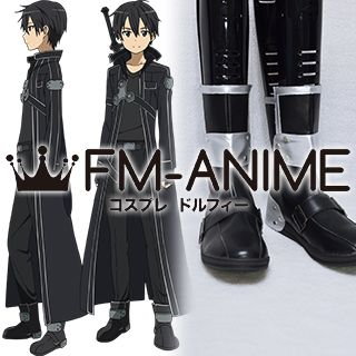 Sword Art Online Kirito / Kazuto Kirigaya (SAO) Cosplay Shoes Boots (Anime Version)