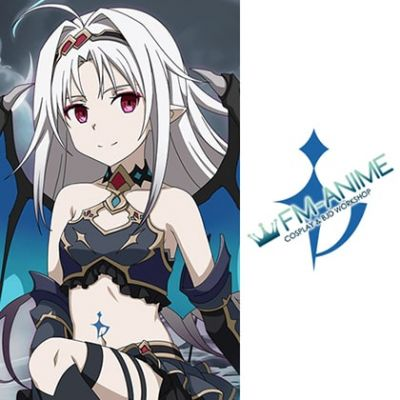 Sword Art Online: Memory Defrag SAO MD Demon Ice Magic Blade Cosplay Tattoo Stickers