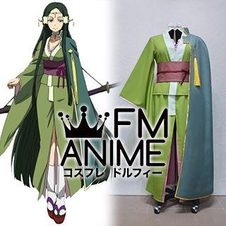 Sword Art Online Sakuya ALfheim Online ALO Kimono Cosplay Costume