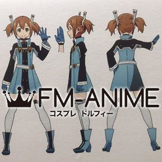 Sword Art Online The Movie: Ordinal Scale Silica / Keiko Ayano Cosplay Costume